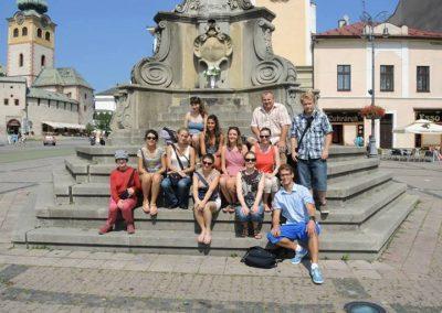 Jedna z mojich prvých tlmočníckych skúseností. Spolu s kolegom Sebastiánom sme sprevádzali skupinu švajčiarskych flautistiek počas ich návštevy na Slovensku.